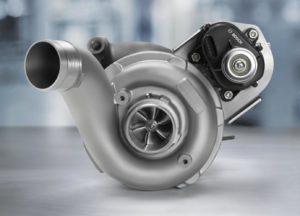 Турбина бензинового двигателя
